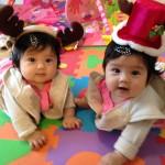 双子、ハーフバースデーまでの道のり。生後0ヶ月〜6ヶ月