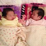 双子、1ヶ月健診までの道のり。生後0ヶ月〜1ヶ月
