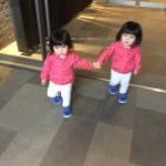 双子ママの夢が叶った日。1歳10ヶ月の双子姉妹